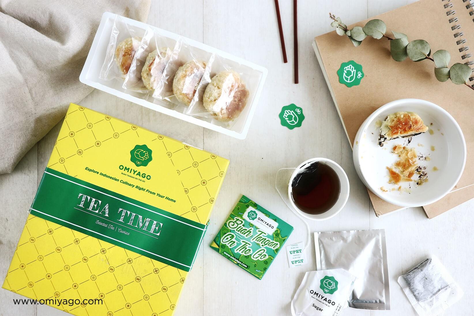 Paket Tea Time Omiyago