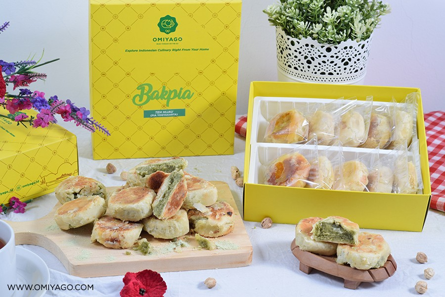 Bakpia_Jogja_Green_Tea_Omiyago_20_Pcs