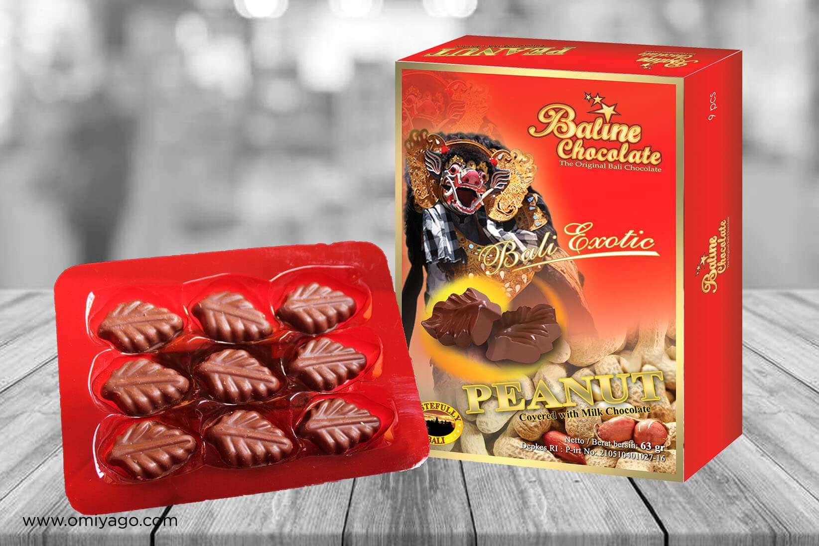 Baline Chocolate Peanut