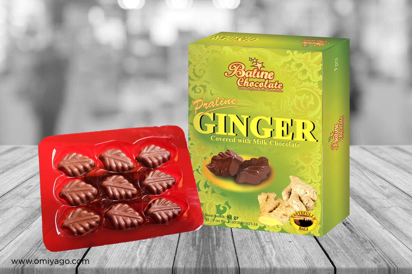 Baline Chocolate Praline Ginger