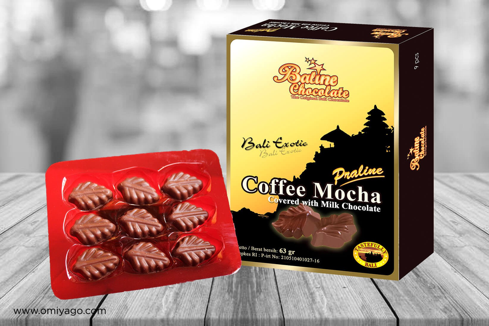 Baline Chocolate Praline Coffee Mocha