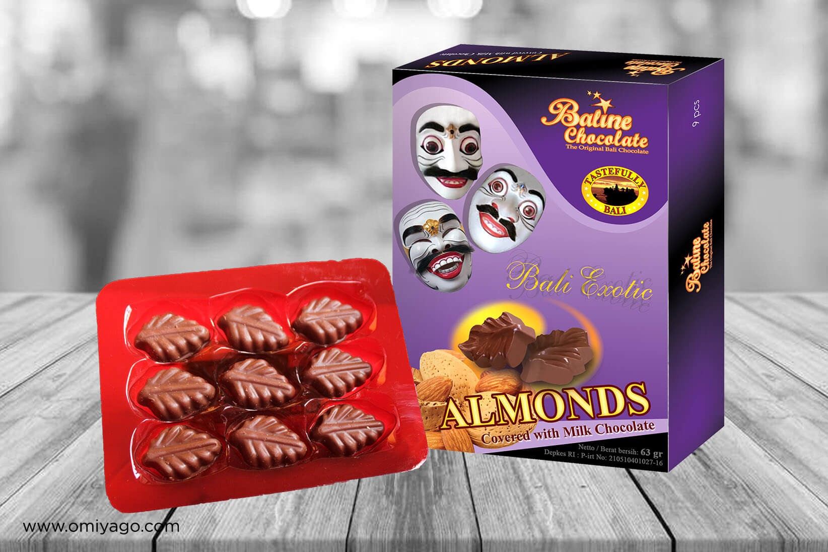 Baline Chocolate Almonds