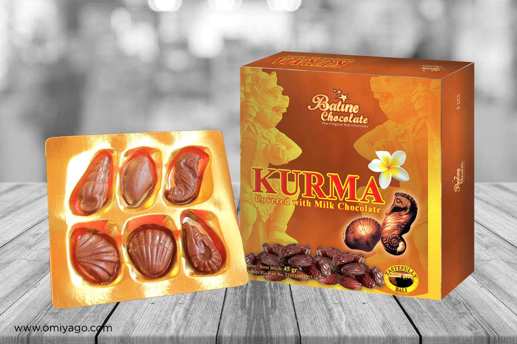Baline Chocolate Kurma