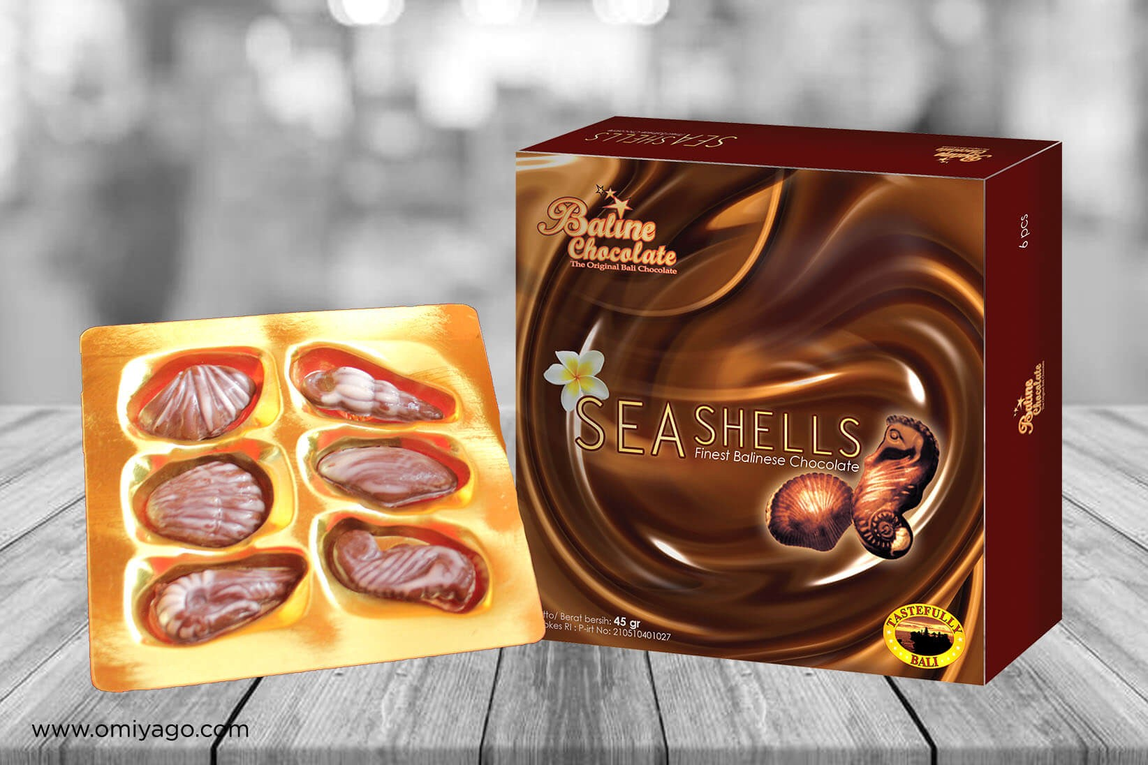 Baline Chocolate Sea Shells
