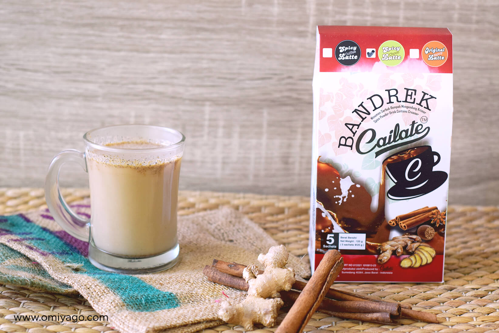 Bandrek Cailate Choco Spicy Latte