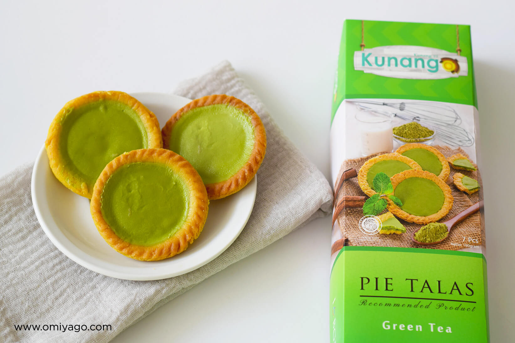 Pie Talas Kunang Green Tea