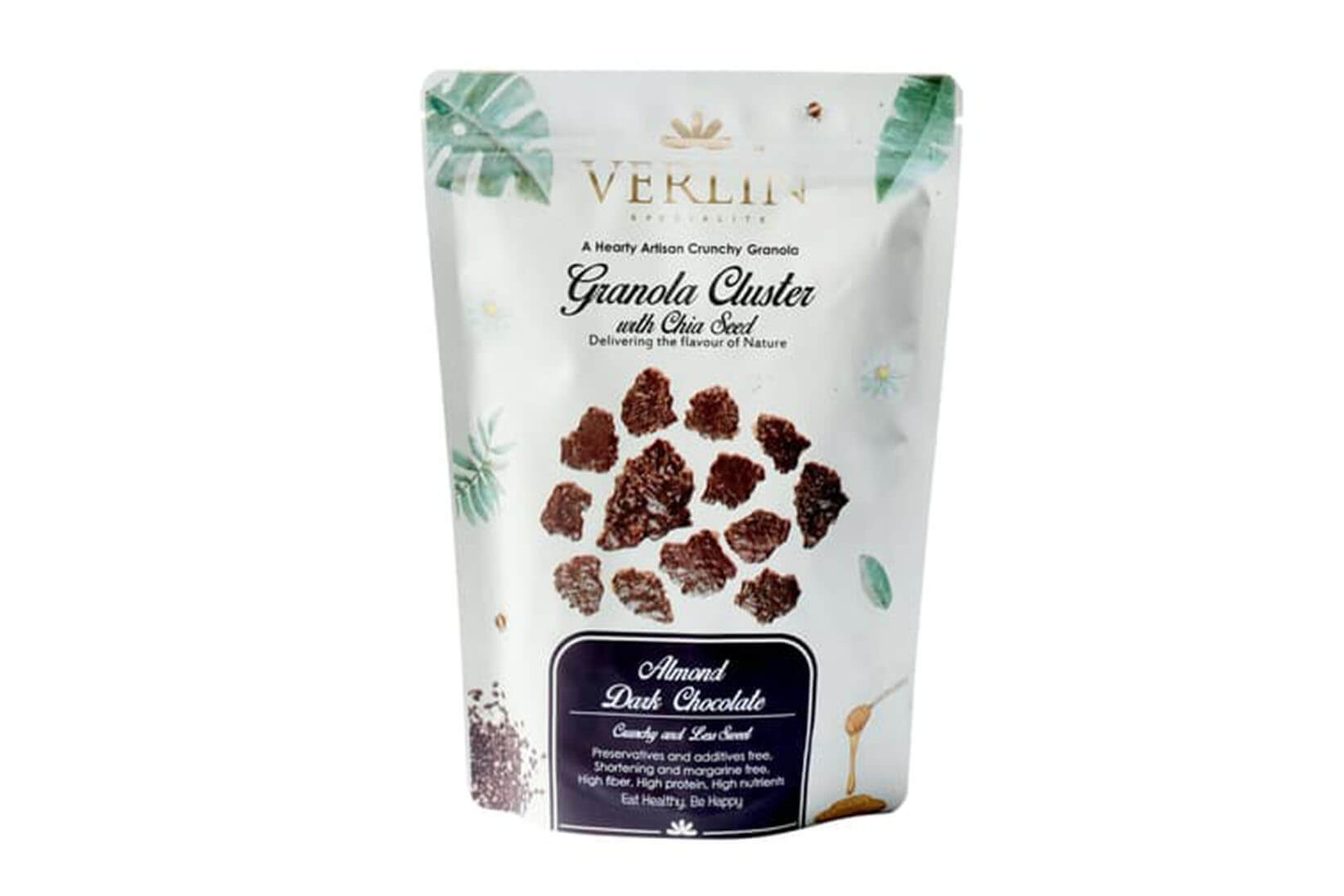 Granola Cluster Almond Dark Chocolate Verlin